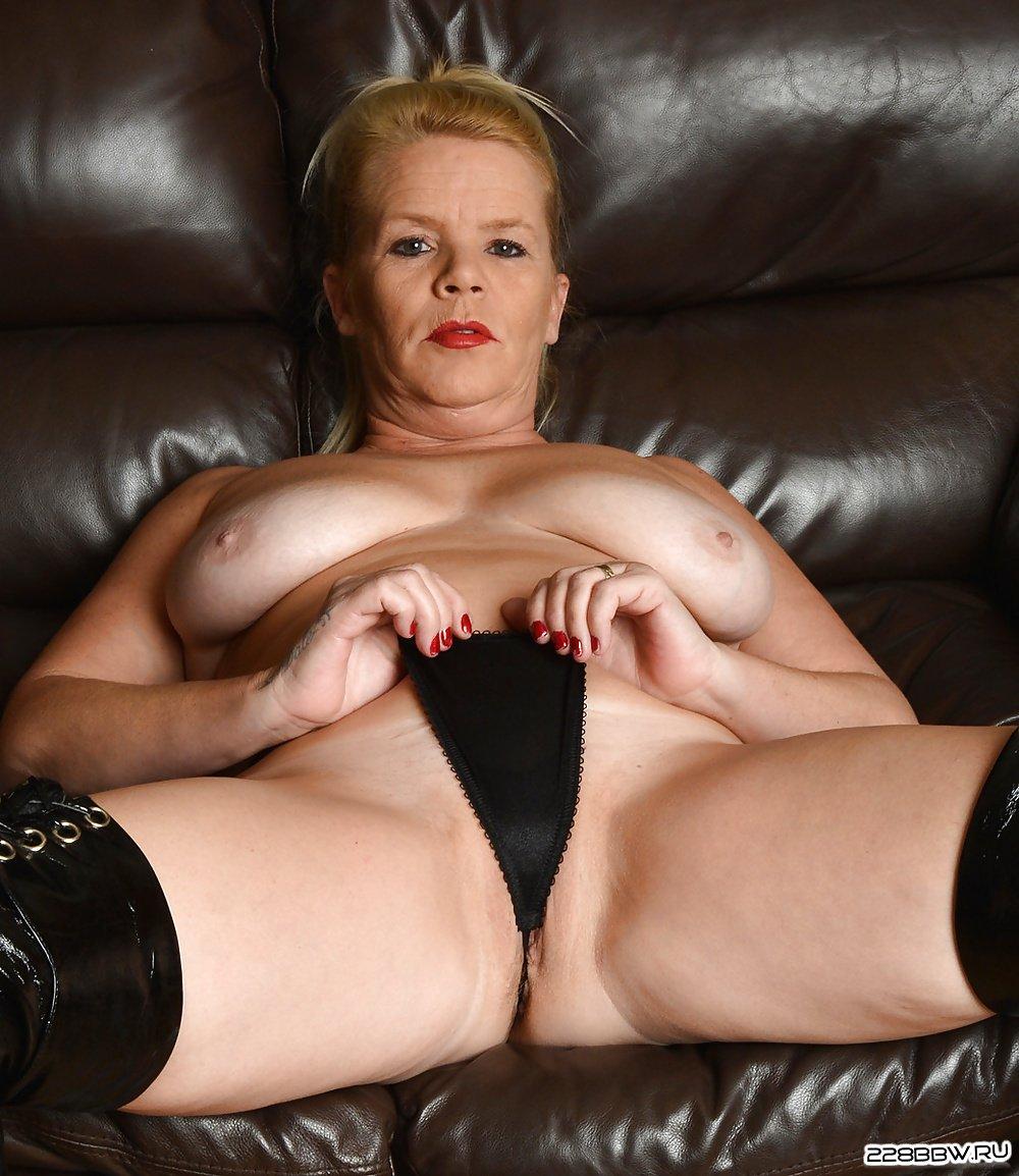 порно фото зрелых толстушек за 50